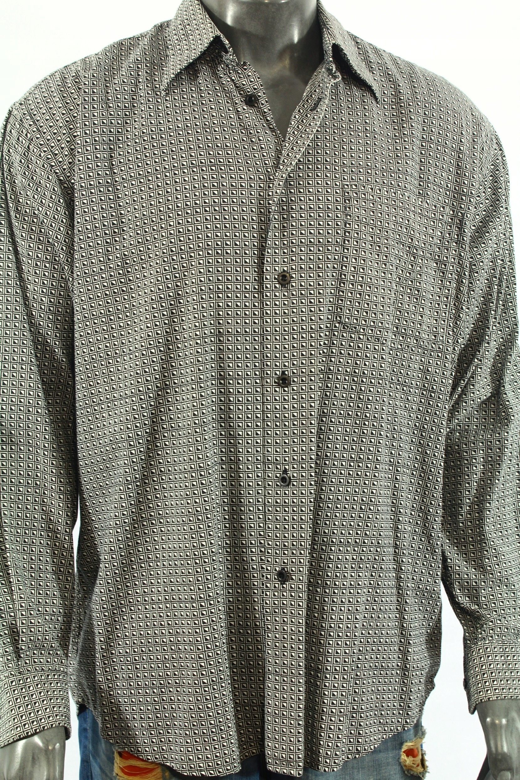 JACK&JONES SELECTED Koszula lekka z wzorem! L