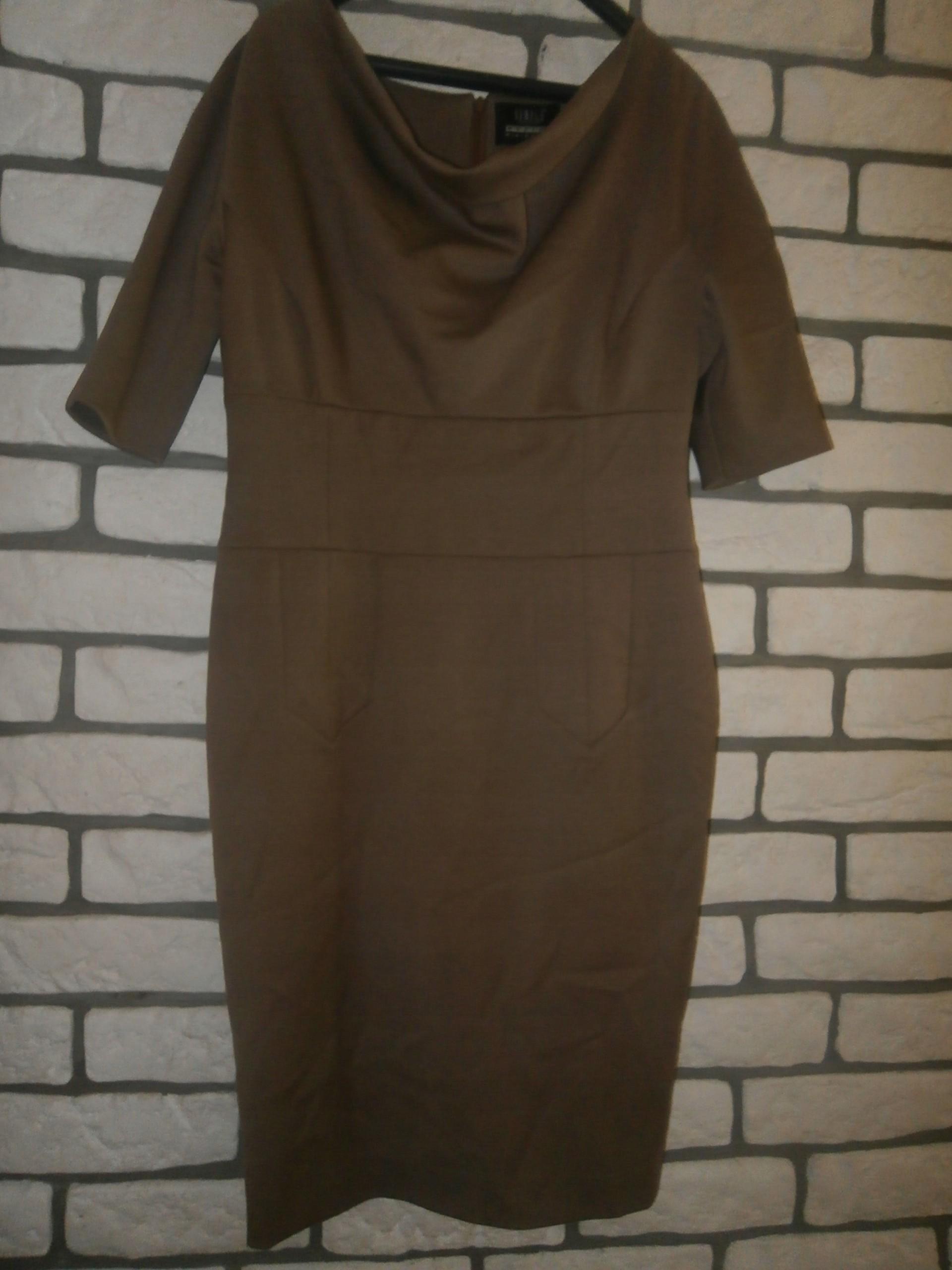 6f12ff850f SIMPLE ołówkowa wełniana sukienka 38 - 7408830378 - oficjalne archiwum  allegro