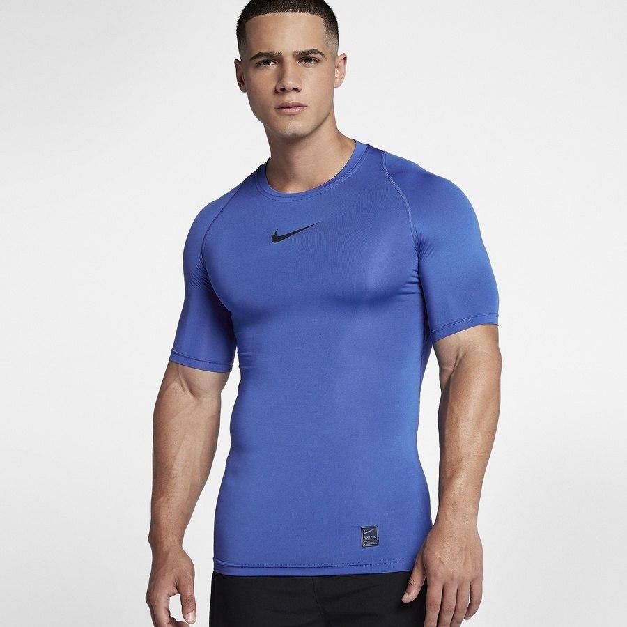 Koszulka Nike M NP TOP SS Comp M niebieski