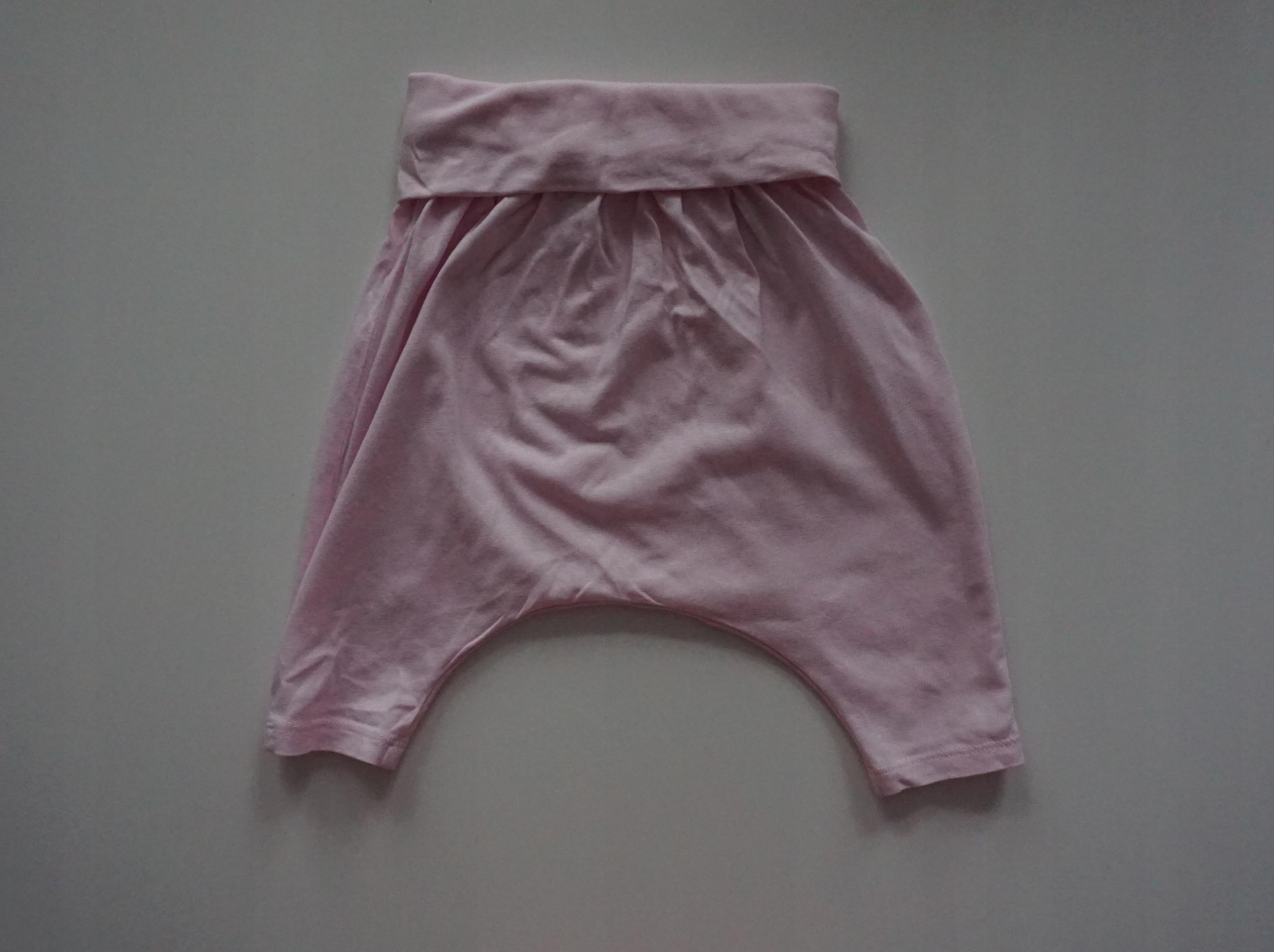 Spodenki różowe H&M 4-6 mcy