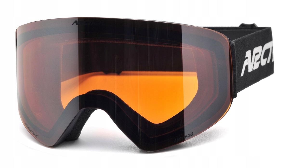 Gogle narciarskie ARCTICA G-108A bezramkowe