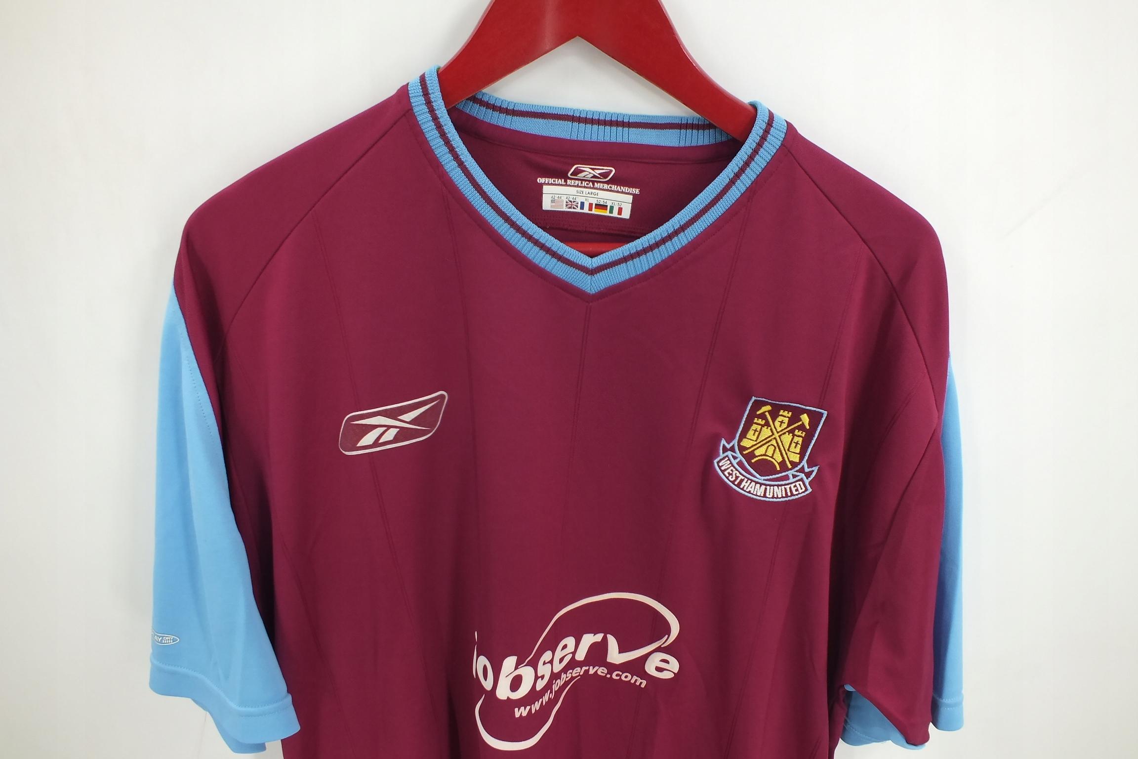 Reebok West Ham United koszulka męska XL