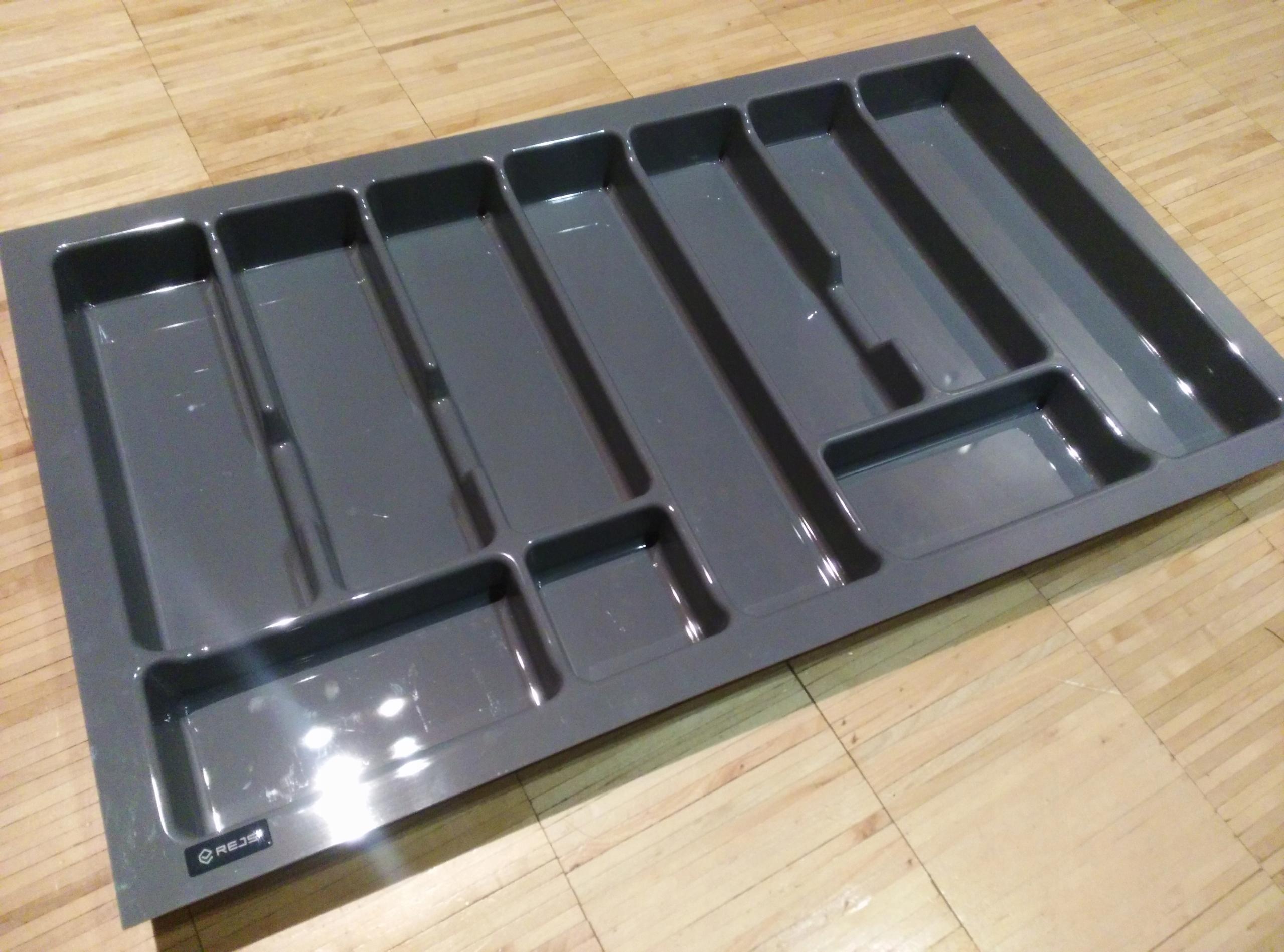 Wkład REJS do szuflady 800mm/80cm - 730/430 szary