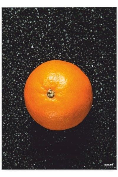 Blacha dekoracyjna / ozdobna Pomarańcza : Rozmiar: