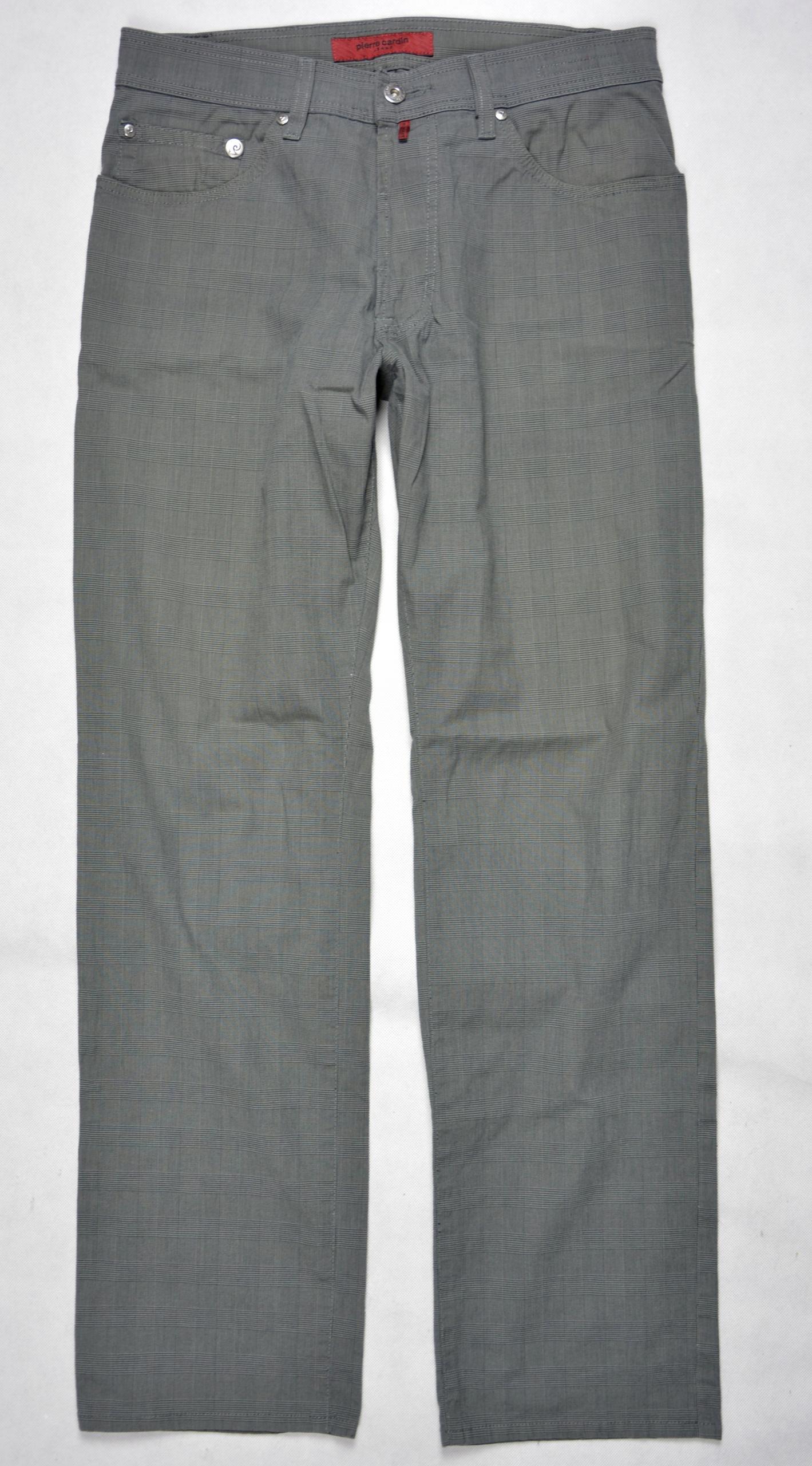 Spodnie PIERRE CARDIN m. Deauville r.33/32 pas 82