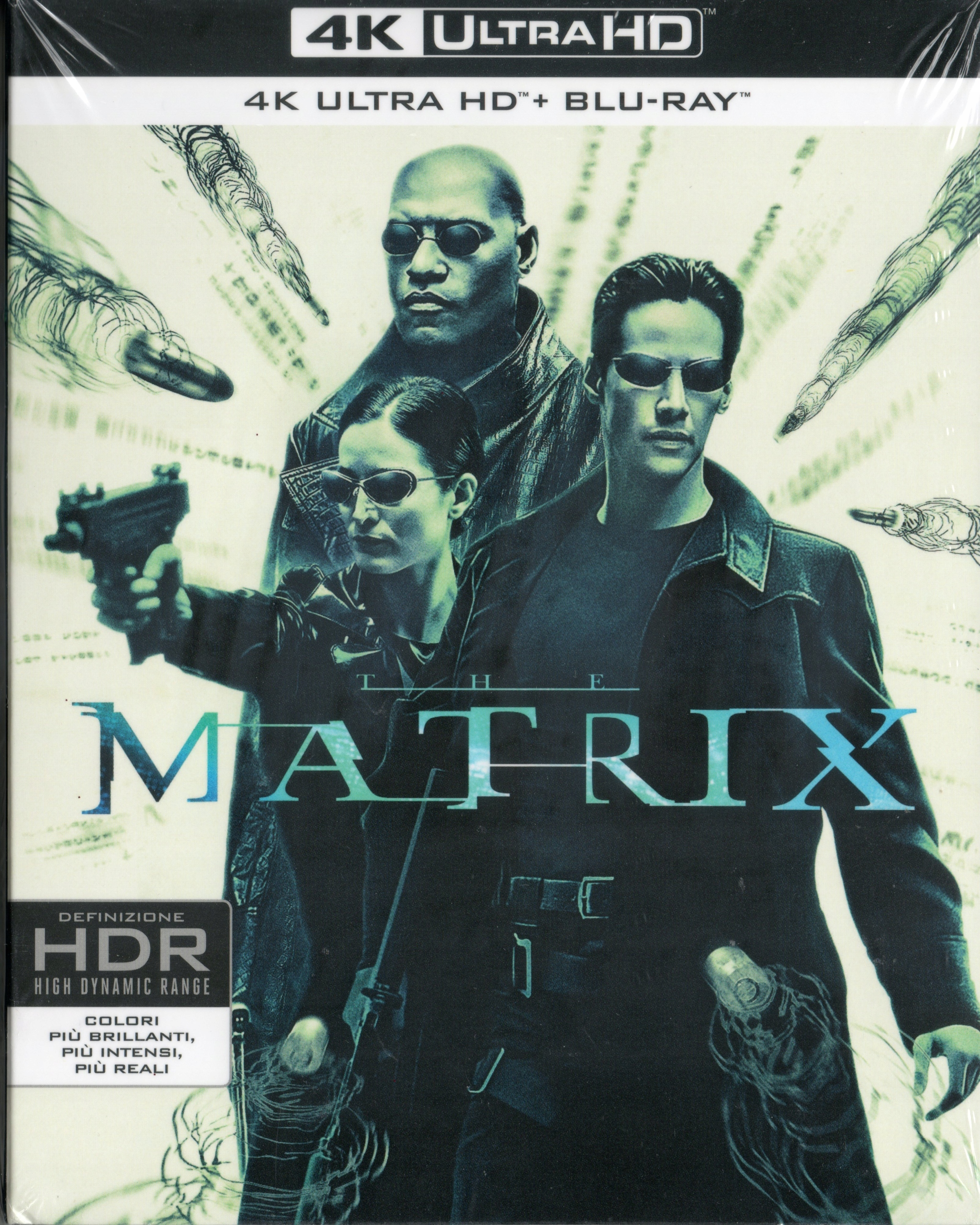 MATRIX 4K UHD ULTRA HD LEKTOR REEVES MOSS WEAVING