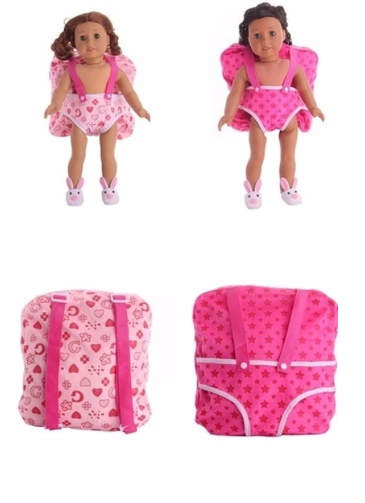 NOSIDEŁKO PLECAK lalka nosidło dla lalki