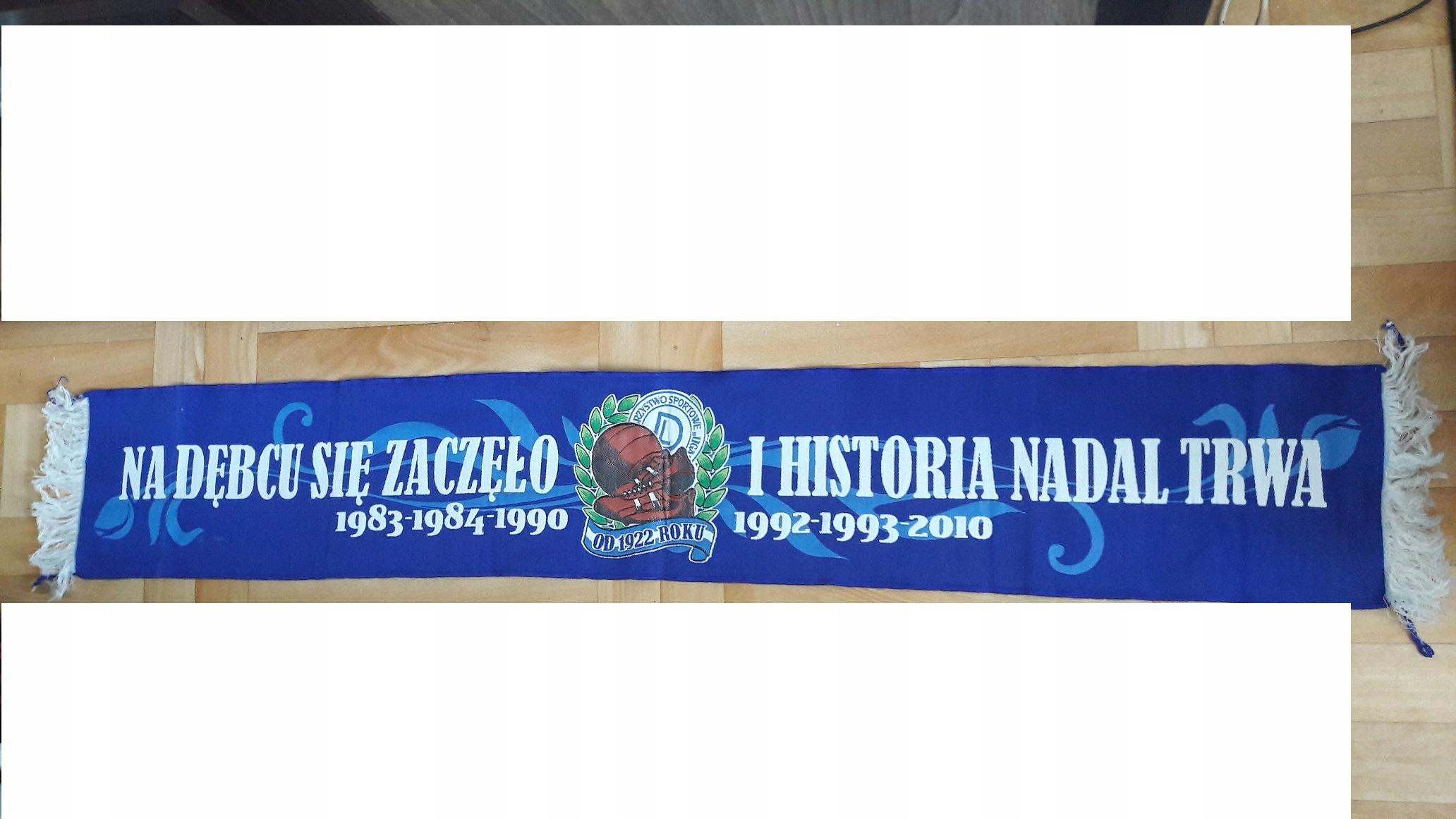 Szalik unikat Na Dębcu sie zaczelo.. Lech Poznań