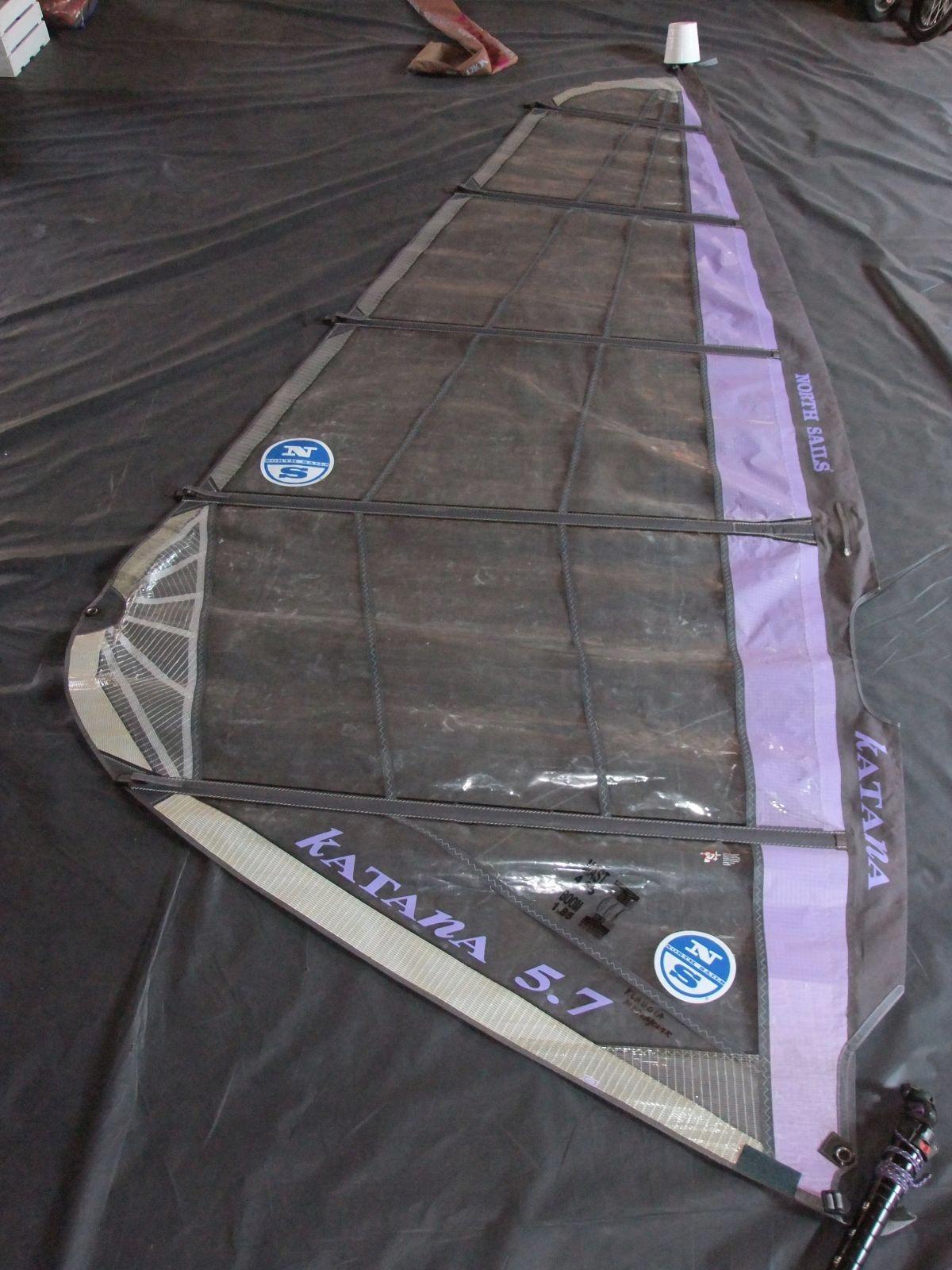 Żagiel do windsurfingu NORTH SAILS.-pow.5,7 m