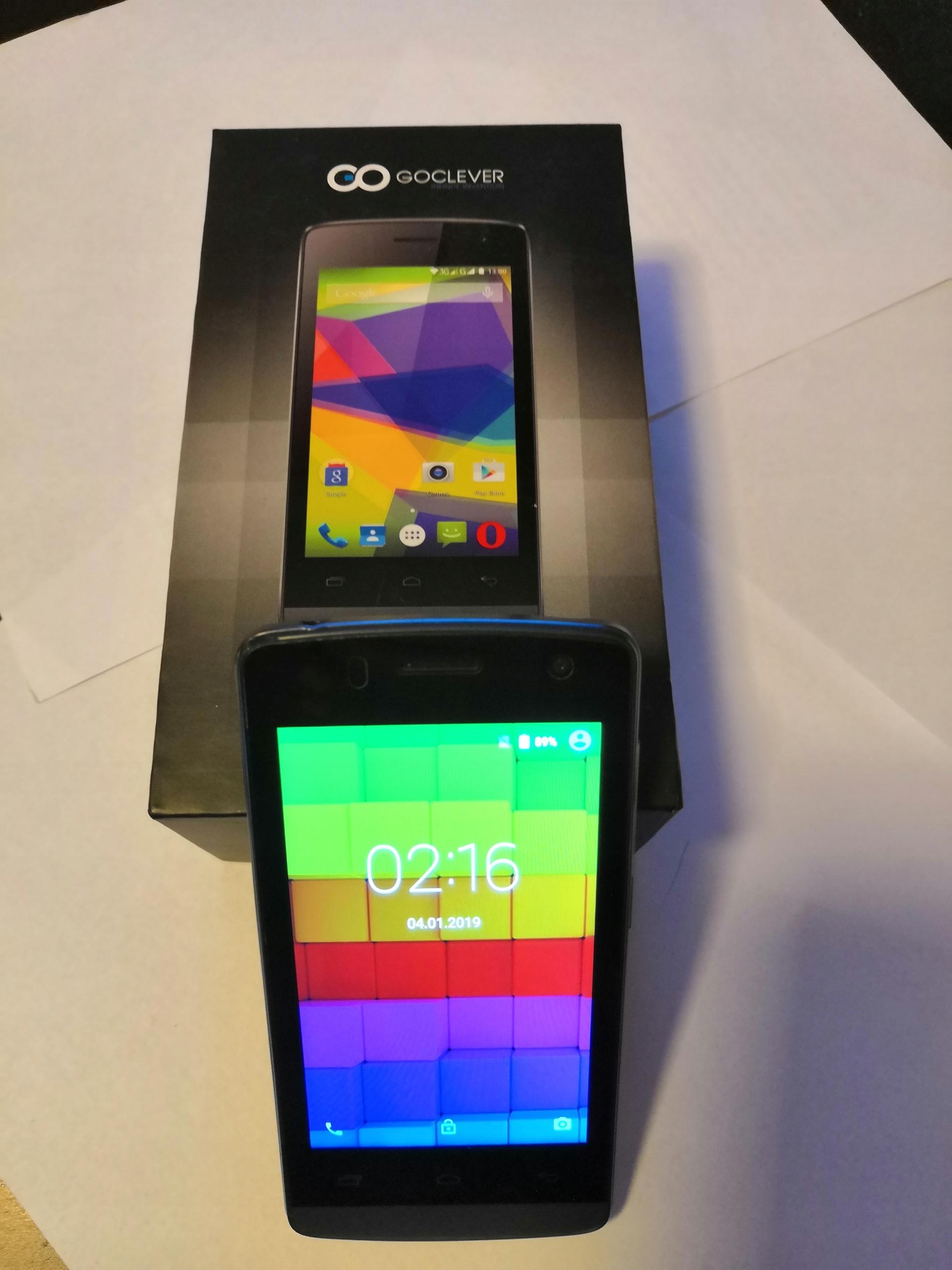 GOCLEVER QUANTUM 2 400S telefon komórka smartfon