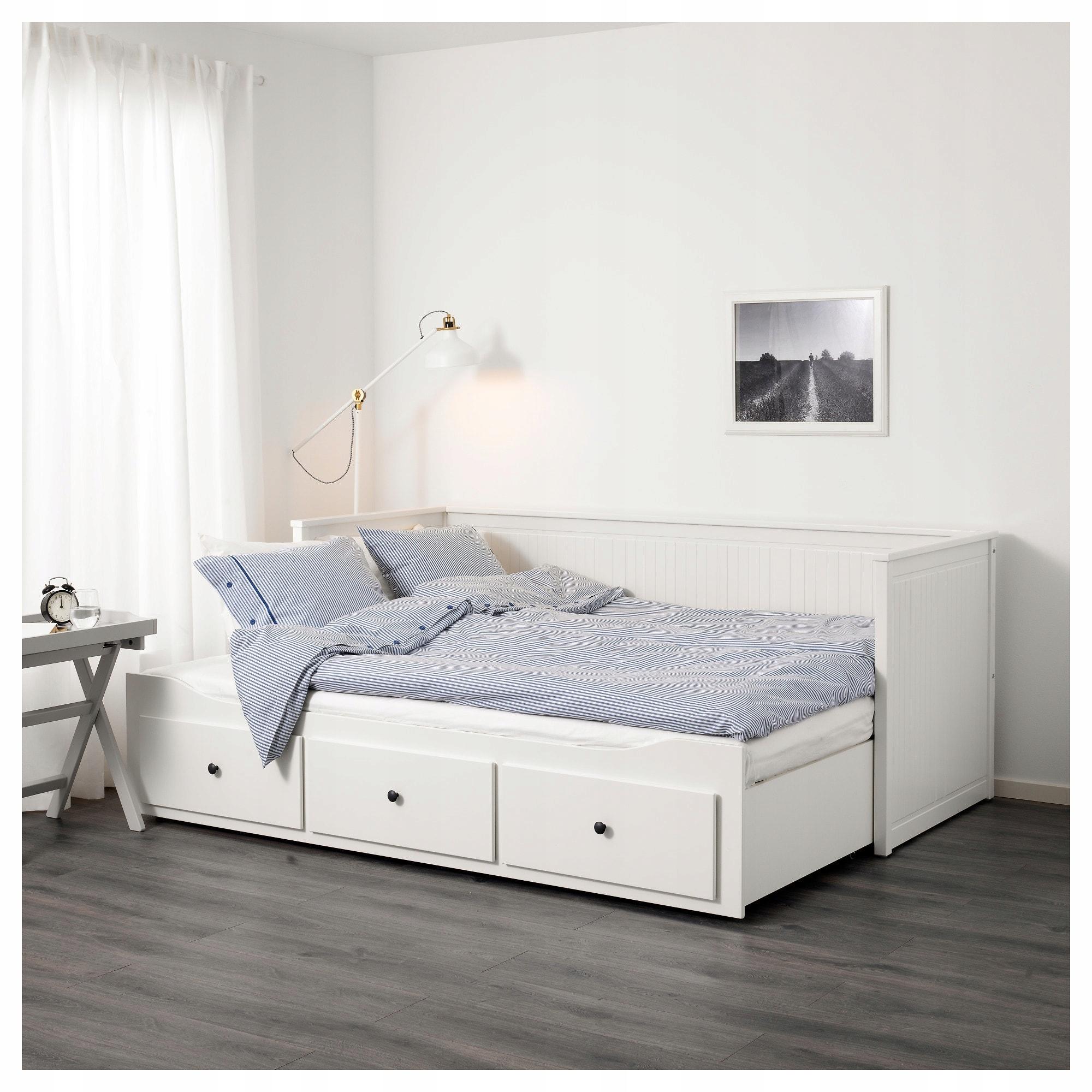 Ikea Hemnes Leżanka łóżko 2 Materace Promocja 7817661638