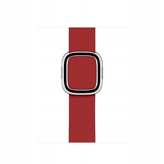 APPLE Pasek z klamrą nowoczesną RED koperta 40 S