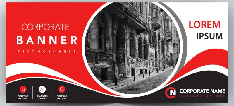 baner reklamowy 3m x 1,5m pełna grafika PROJEKTY