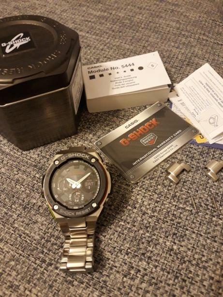 zegarek Casio gst w100d