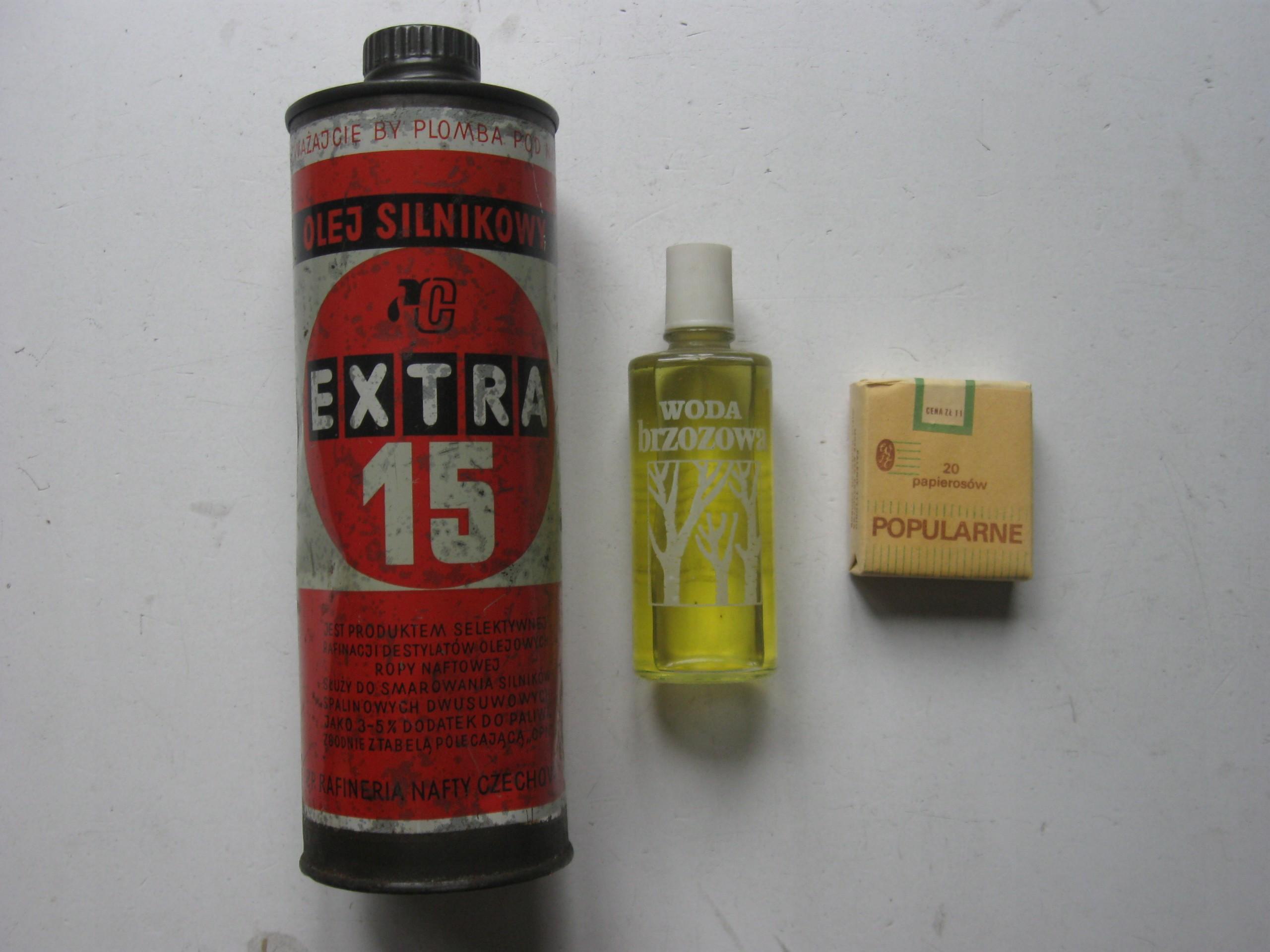 SYRENA TRABANT zestaw kierowcy olej EXTRA 15