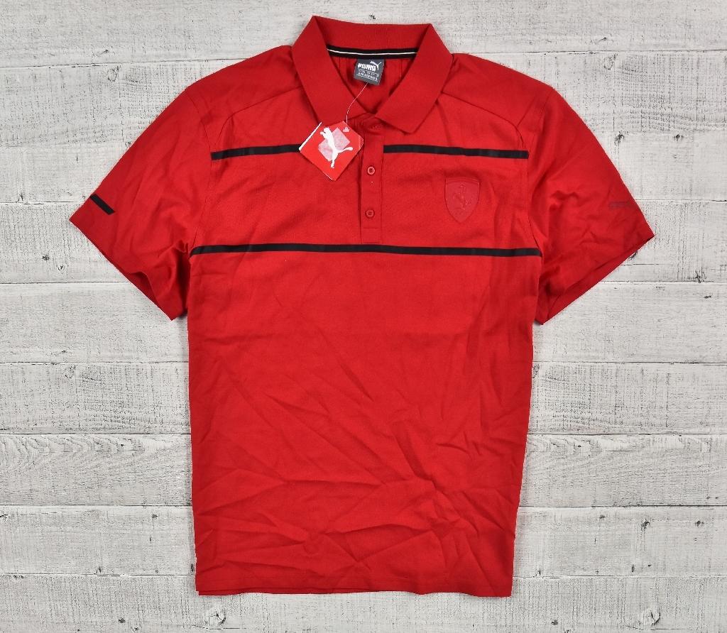 Koszulka Polo _ Puma _ Ferrari 570678 02 rozm XL