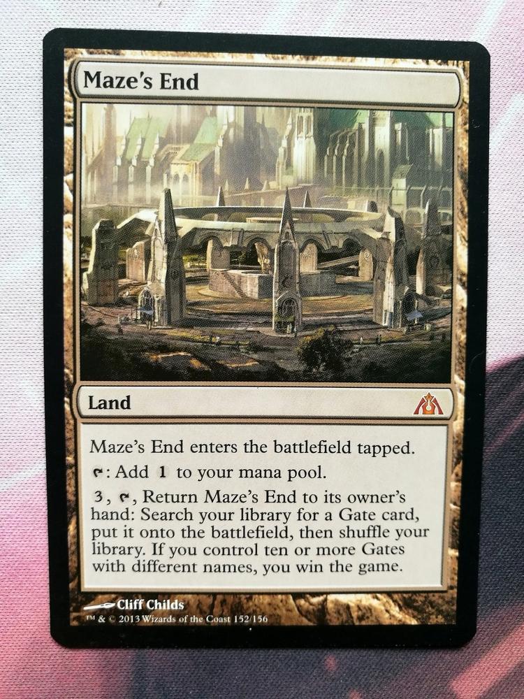 Maze's End (DGM, Mythic Rare)