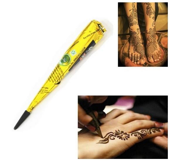 Henna Naturalna Do Tatuażu Czarna Rożektuba 7294787628