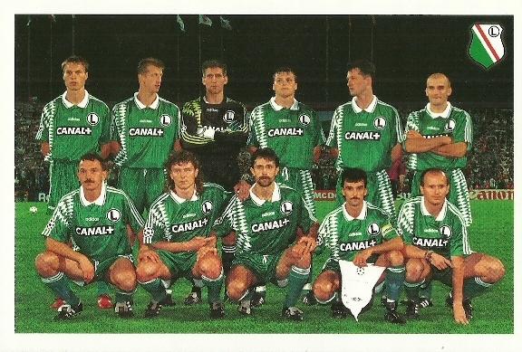 1995 Legia Warszawa (Liga Mistrzów)