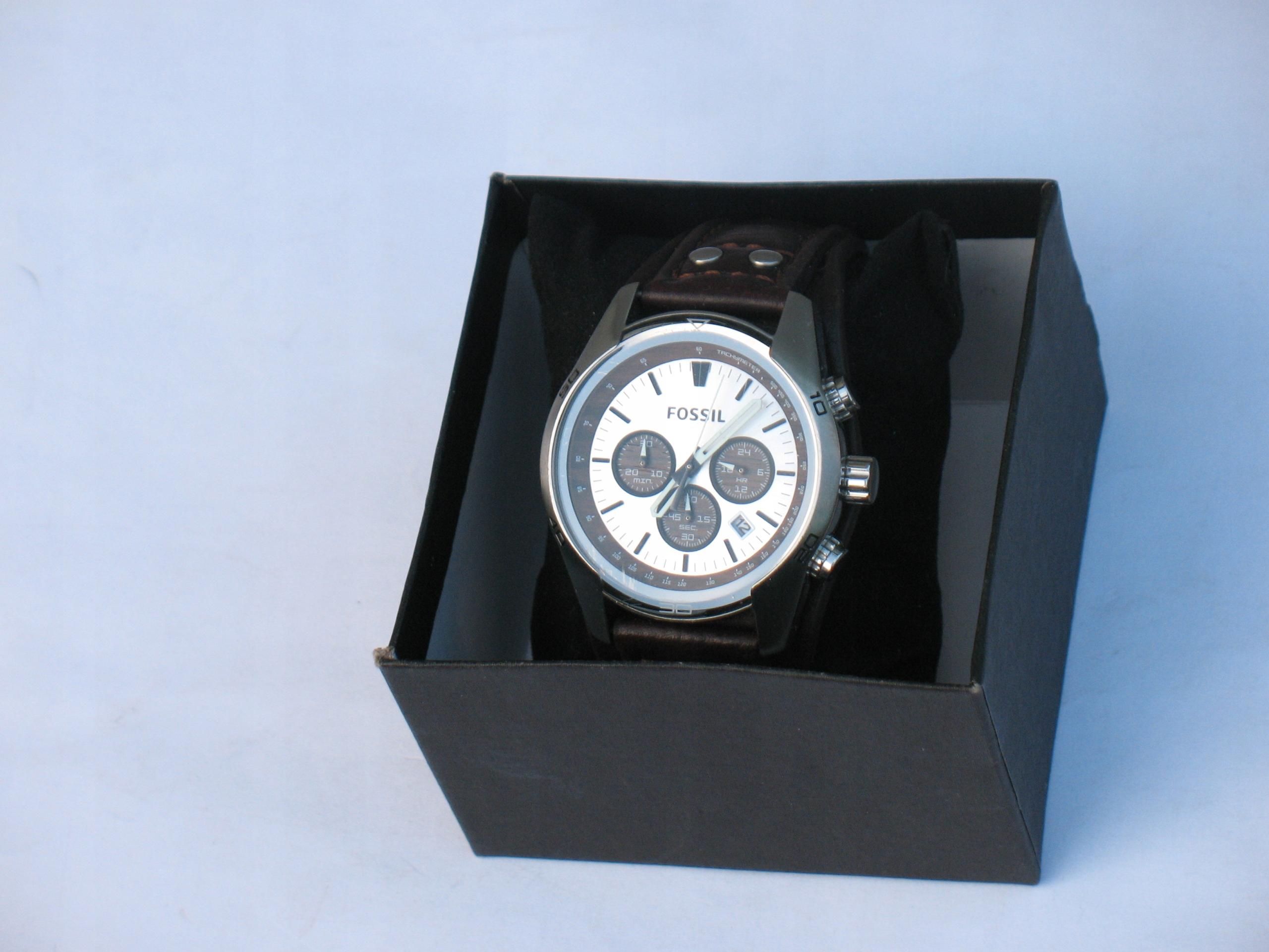 Zegarek męski Fossil CH-2565 - chrono