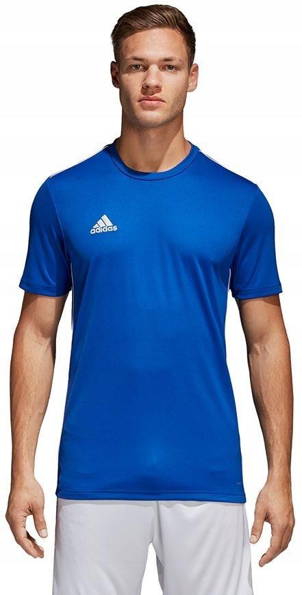 Adidas Koszulka męska Core 18 Tee niebieska r. L (