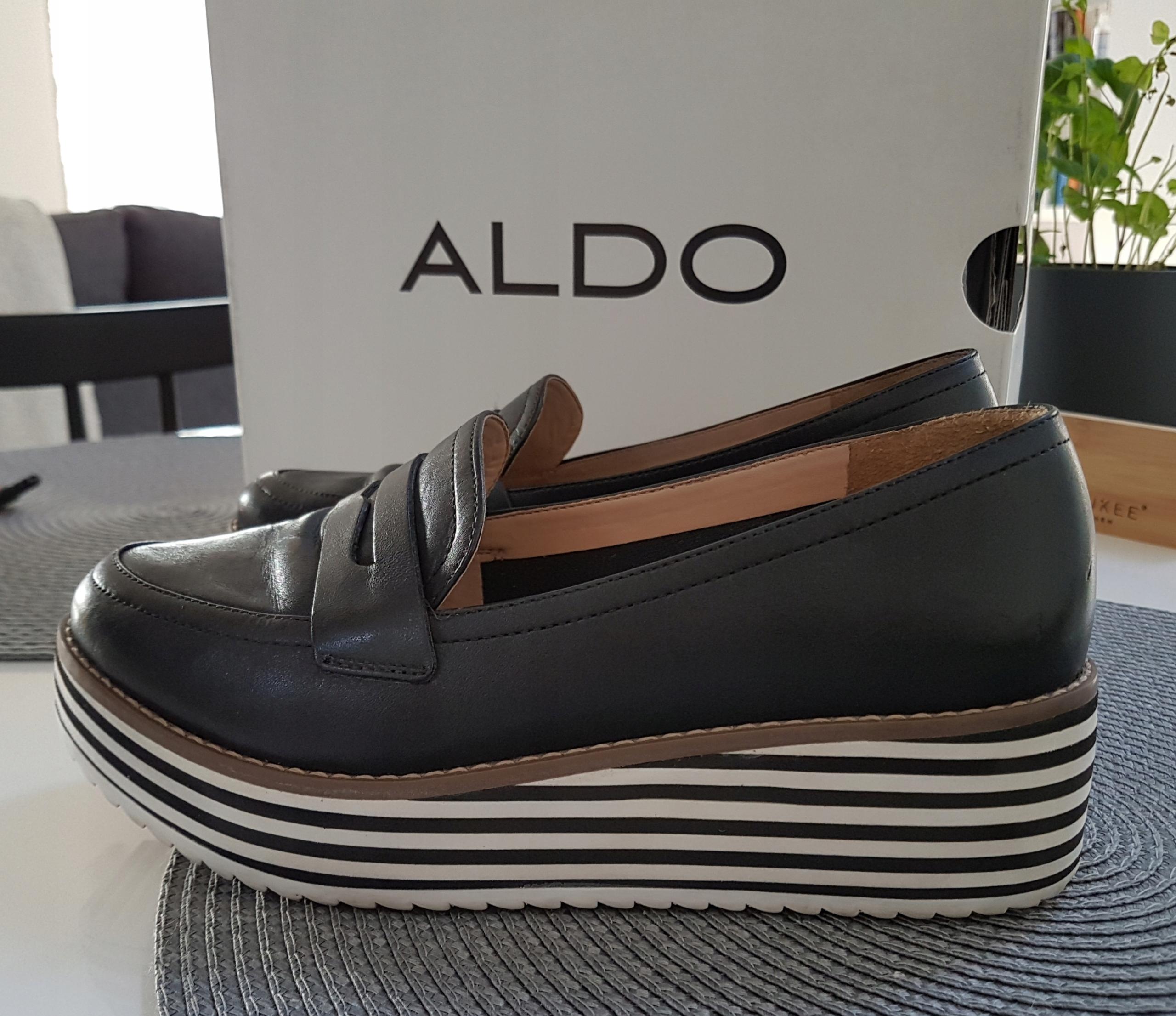 Półbuty Aldo rozm. 36 jak nowe. CENA sklepowa 390