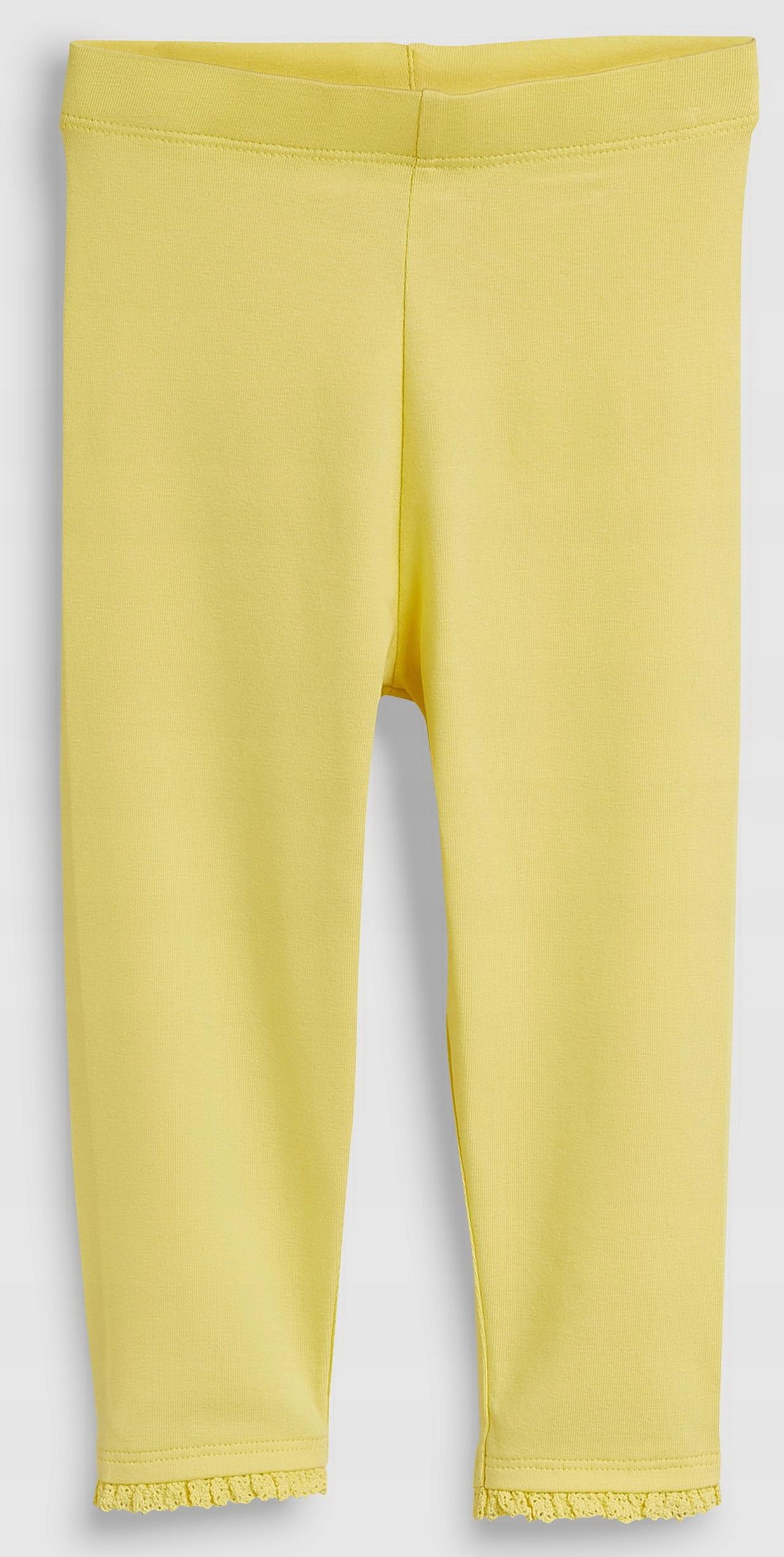 NEXT Legginsy Yellow Frill 3-4 L 2019