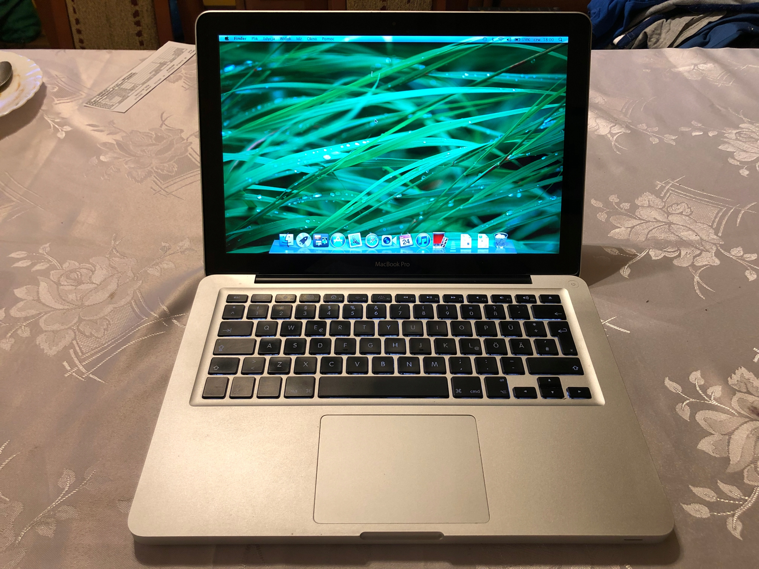 Macbook Pro 13 Intel Core 2 Duo 2,25 GHz 5GB RAM