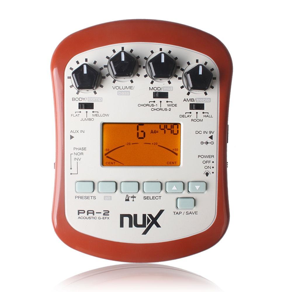 NUX PA-2 - Multiefekt do gitary akustycznej KRAKÓW