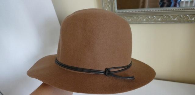 Raffaello Bettini kapelusz brąz 100% wełna