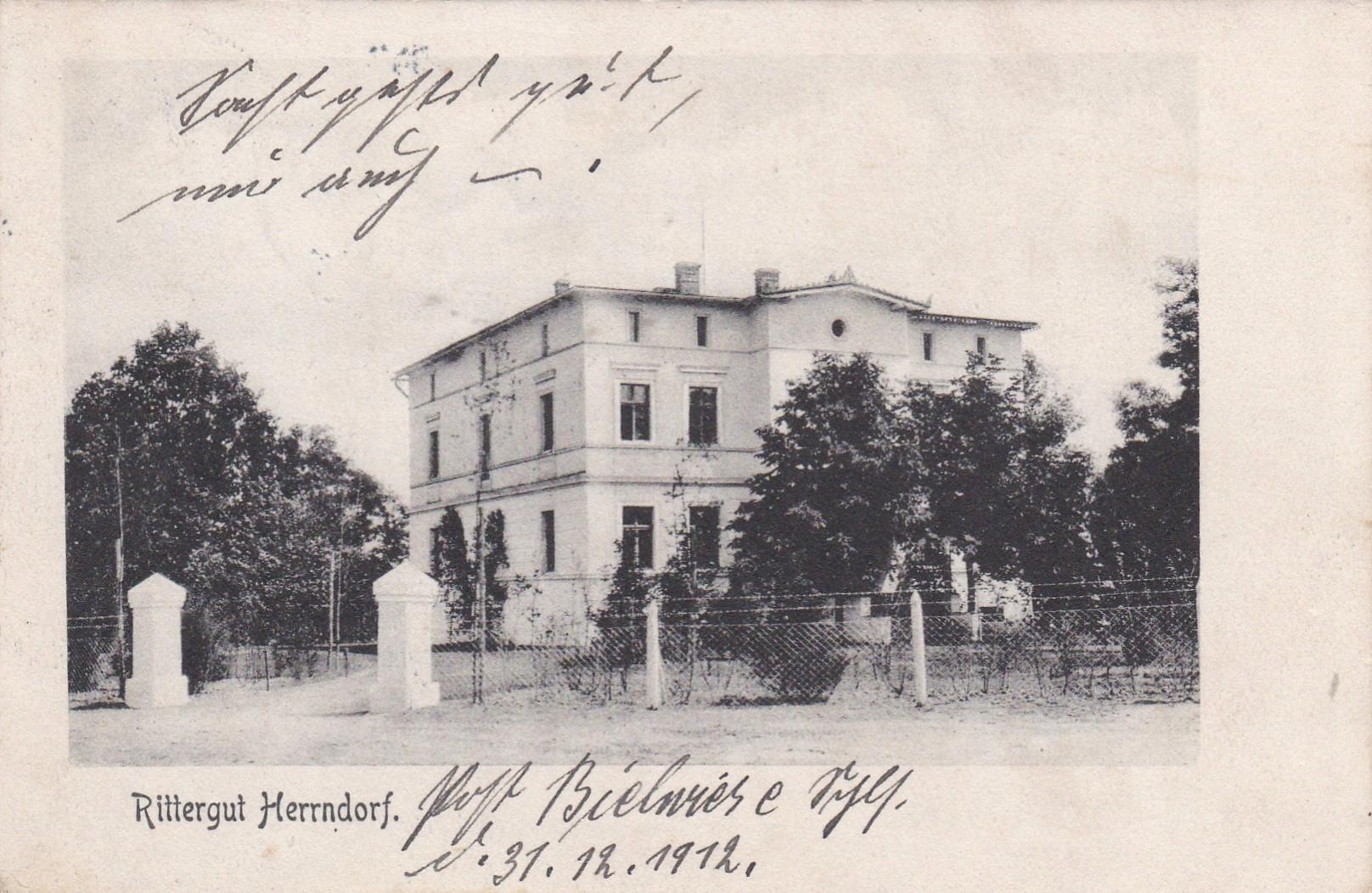 Żukowice - 1912 r. pow. Głogów