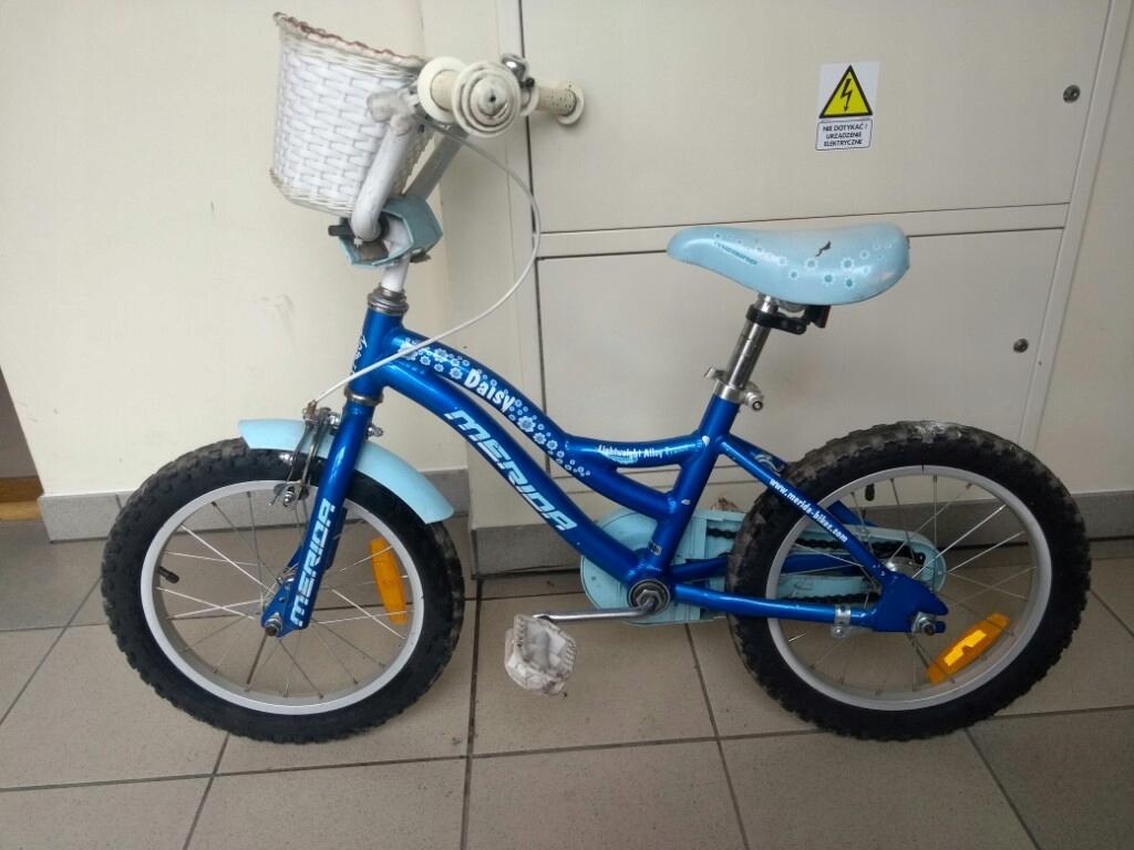 Rower Merida dla dziecka 3-5 lat