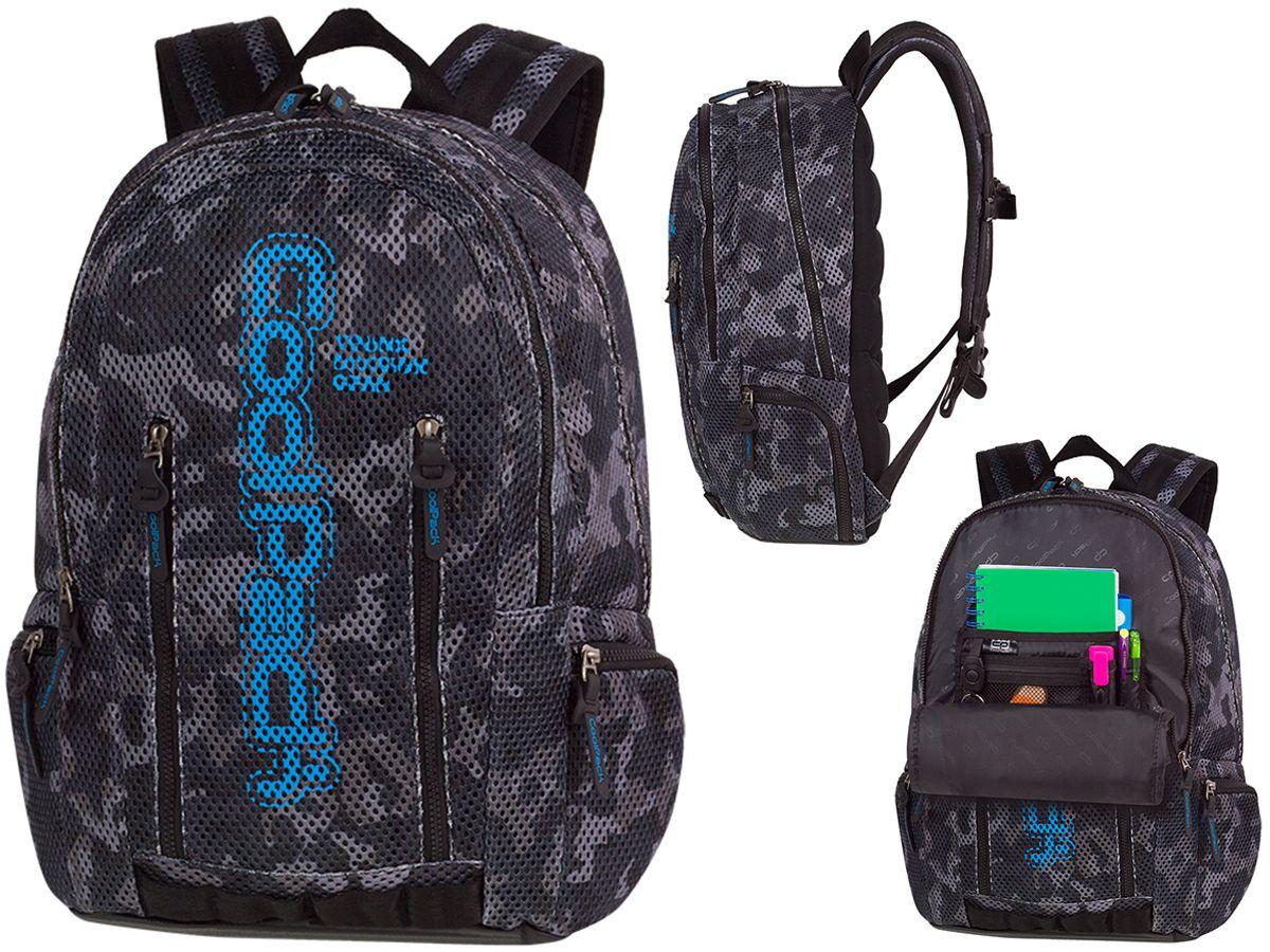Plecak CP Impact II Camo Mesh Black 84083CP A550