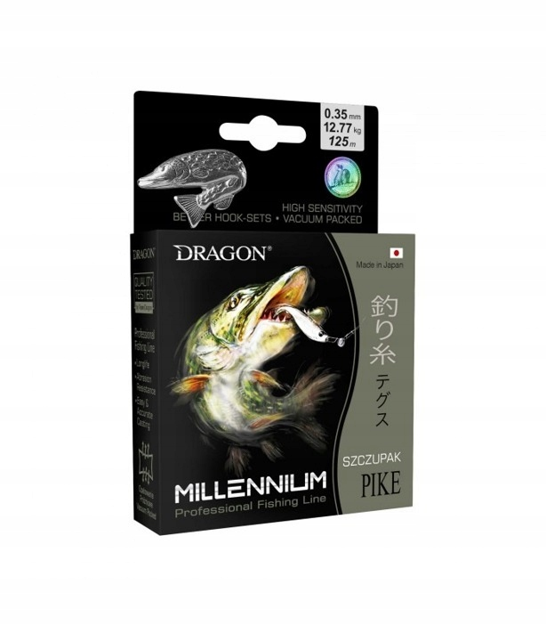 Dragon Żyłka Millenium SZCZUPAK 0.20mm-5.27kg-200m