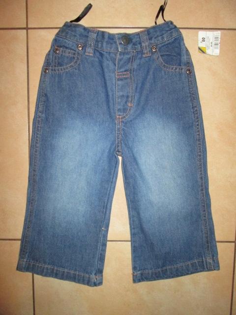 Jeansy spodnie nowe dziewczynka 80 przedszkole