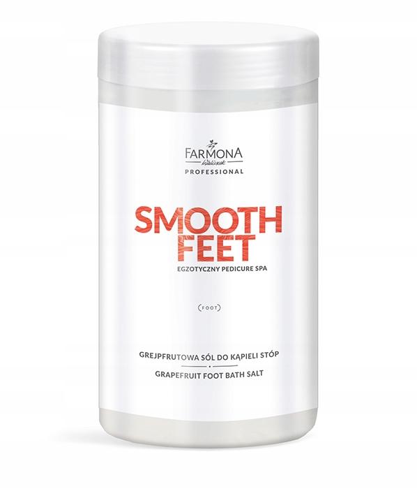 Farmona Smooth Feet Grejpfrutowa sól kąpieli stóp
