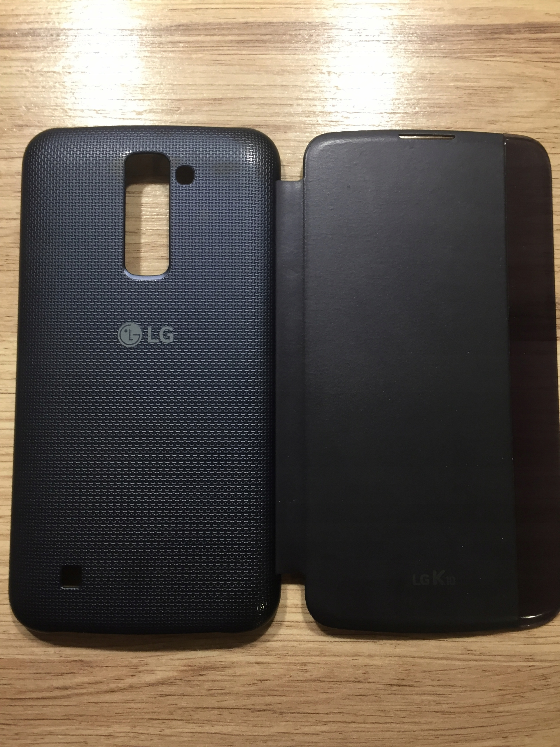 Etui LG K10 QuickCover view 2016