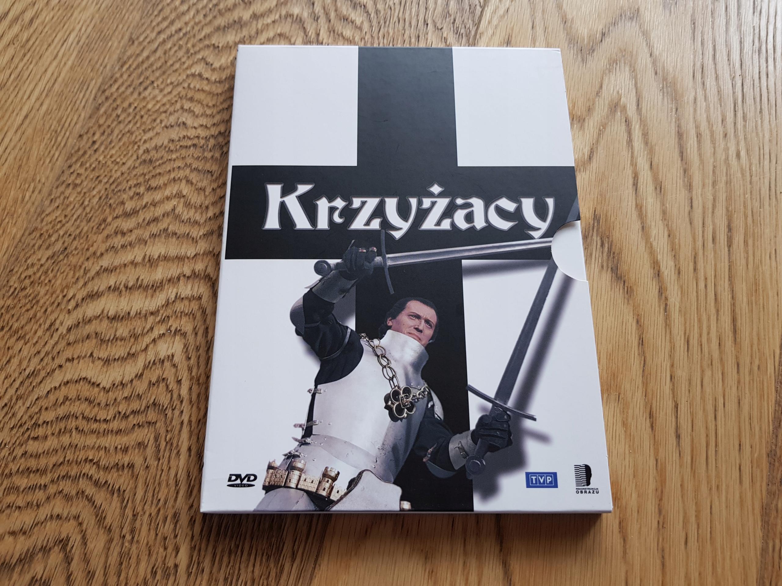 KRZYŻACY - Aleksander Ford - [DVD] NAJTANIEJ