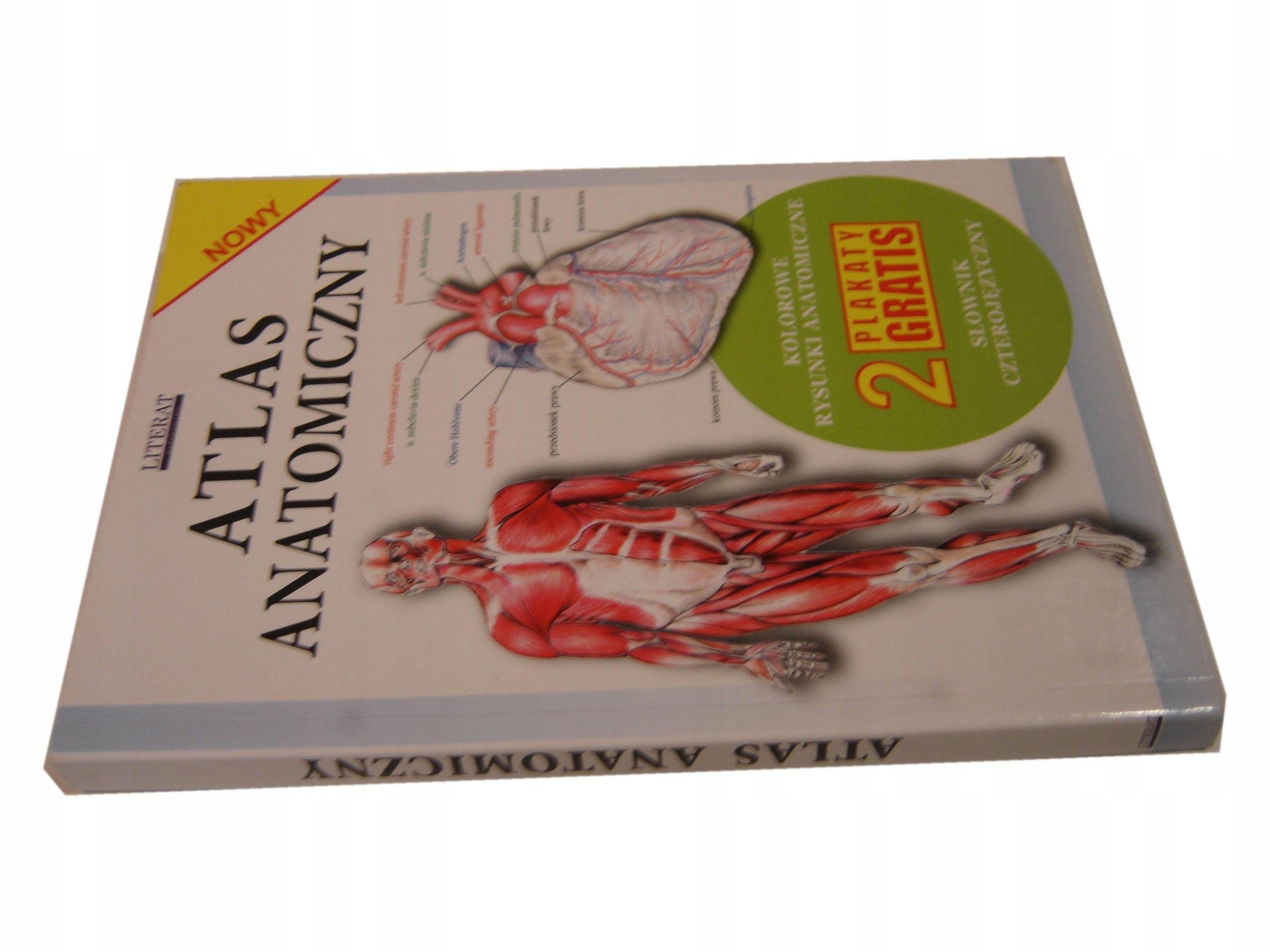 Atlas Anatomiczny Literat 7185203230 Oficjalne
