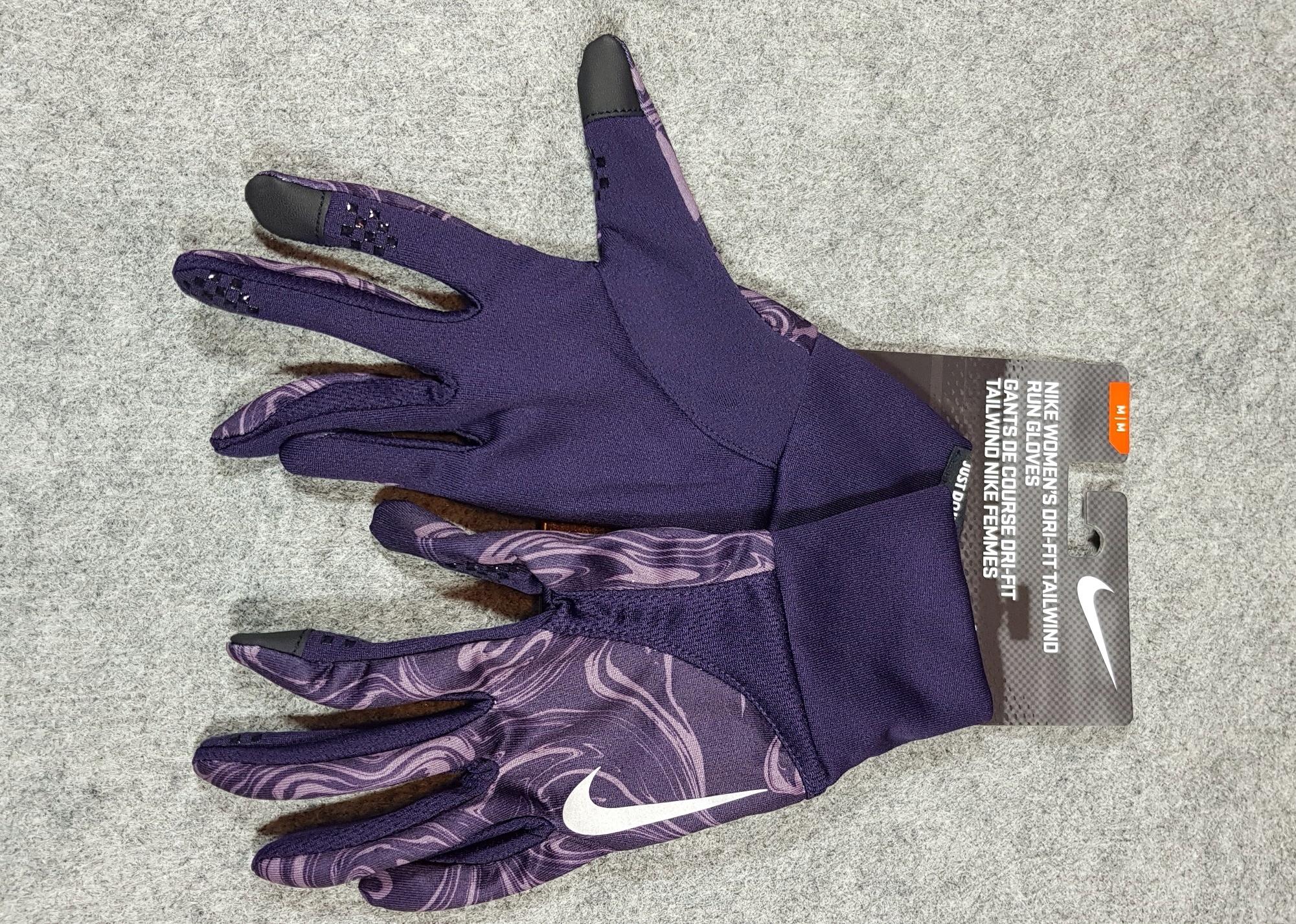 Rękawiczki do biegania NIKE Dri-Fit Tailwind r. L