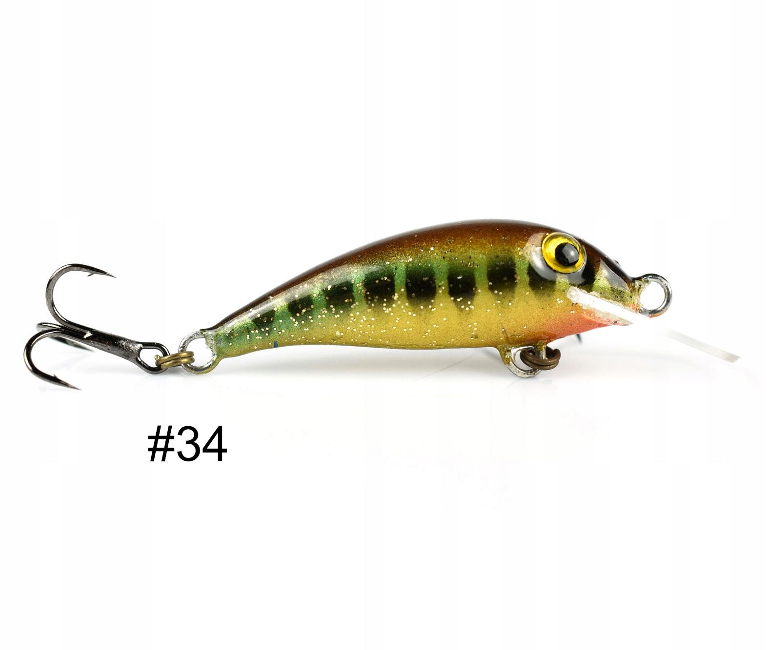 Siek Stynka wobler pływający 4cm 2g kolor 34