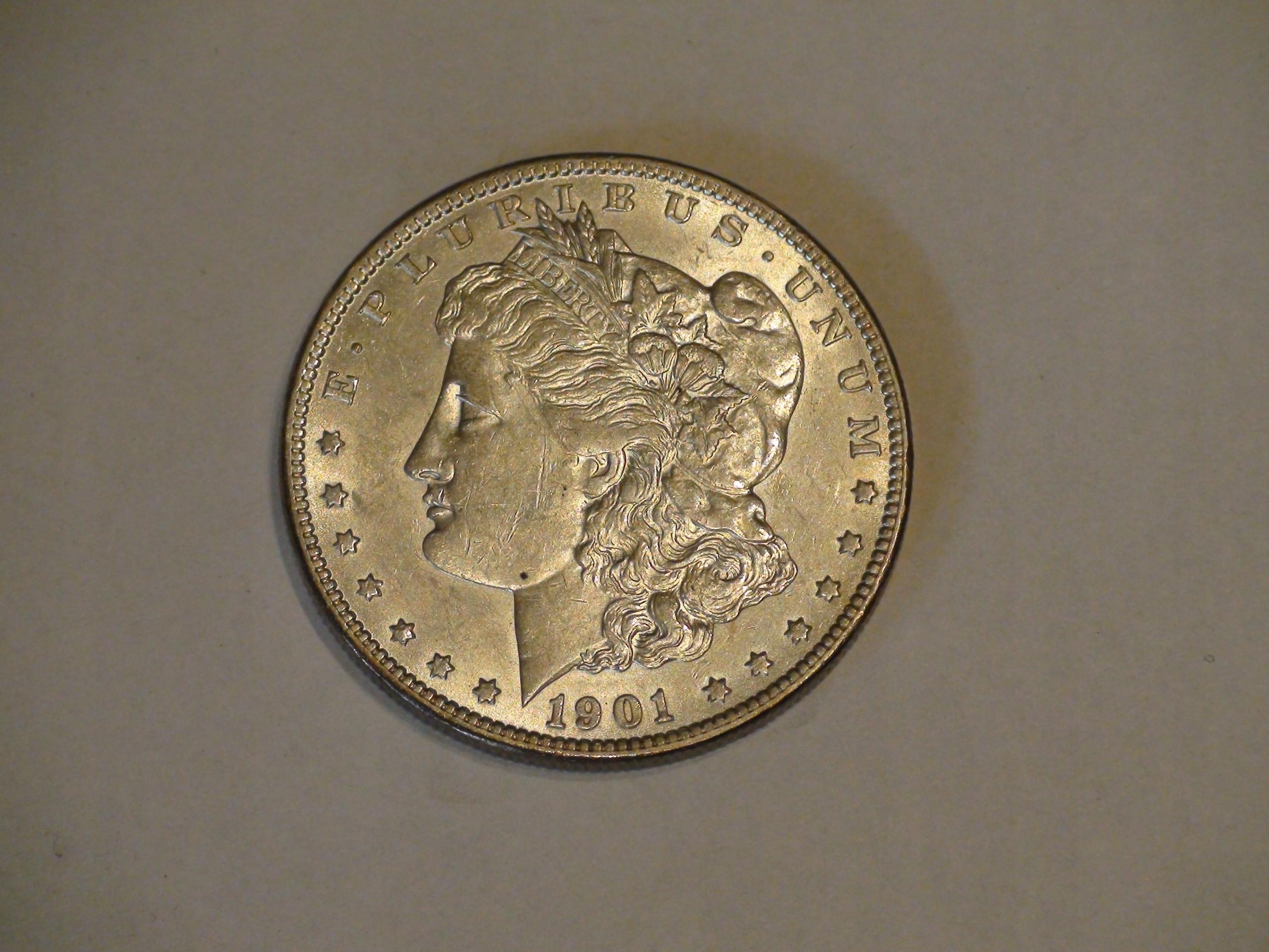 One Dollar Morgan 1901O