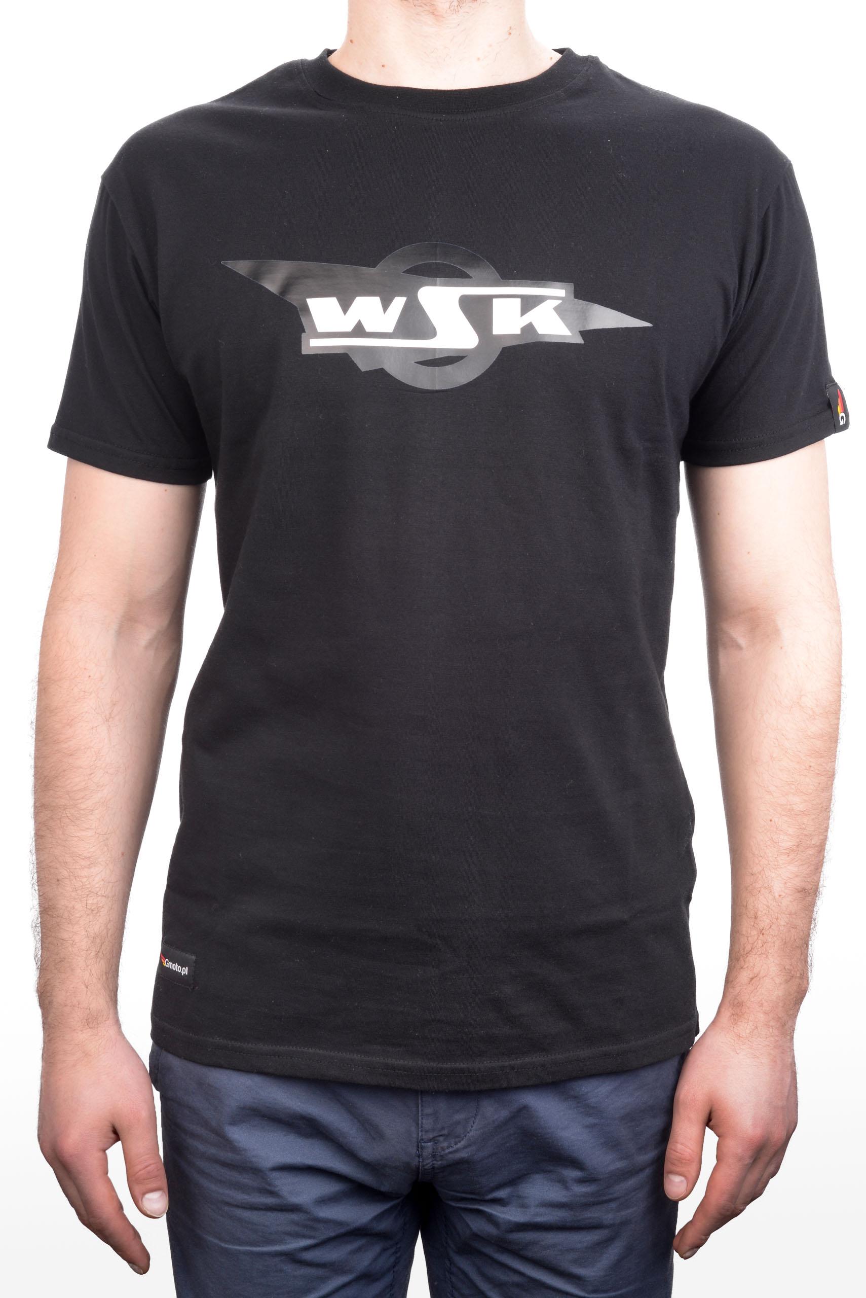 KOSZULKA T-shirt MOTOCYKLOWA WSK 125 175 L
