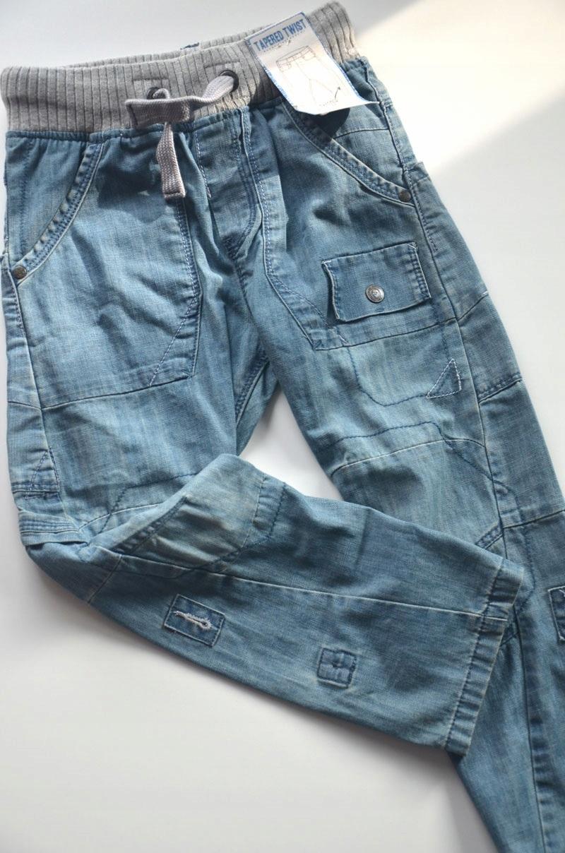Spodnie jeasowe Next 122 cm