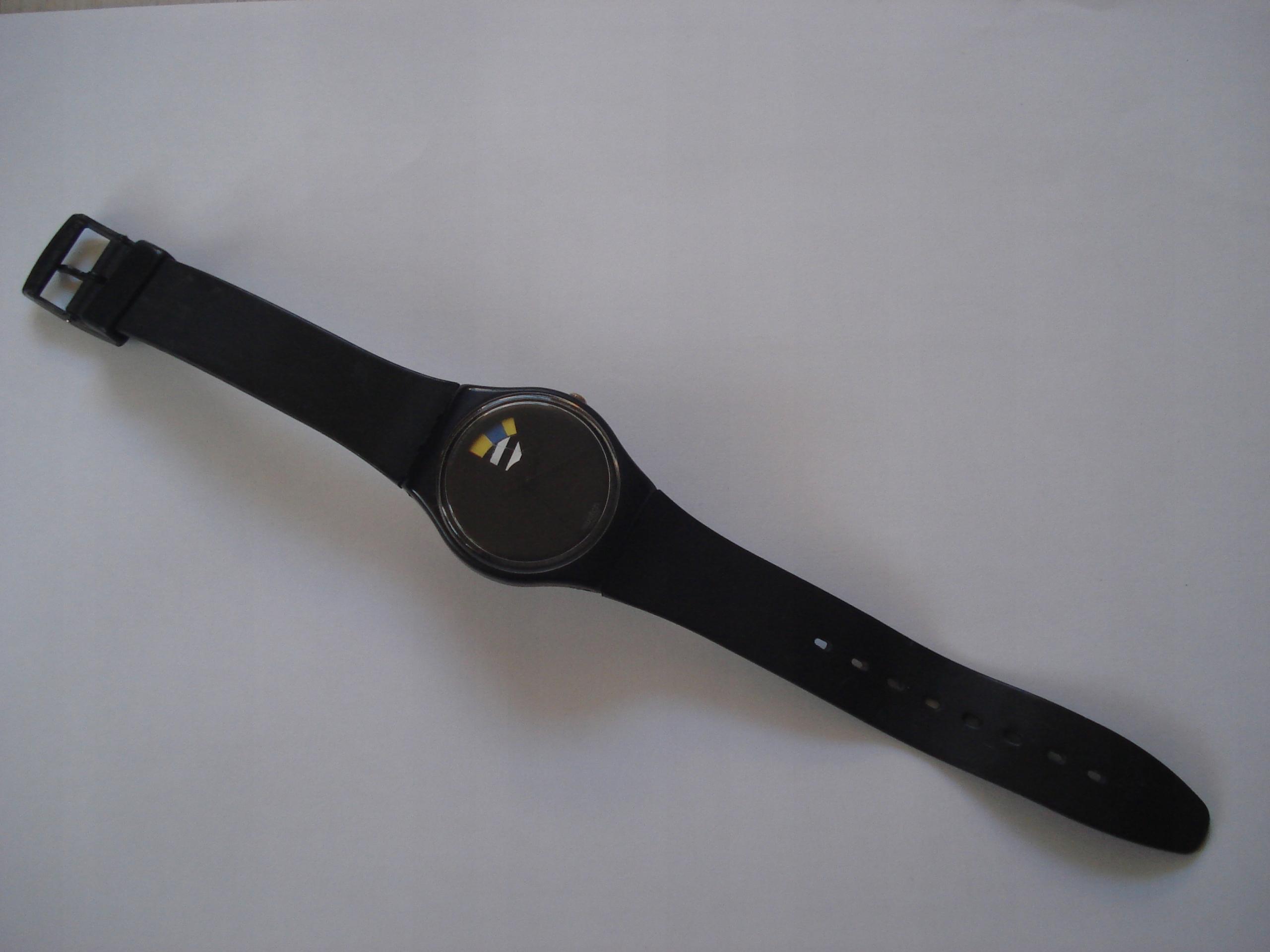 Zegarek SWATCH - czarny