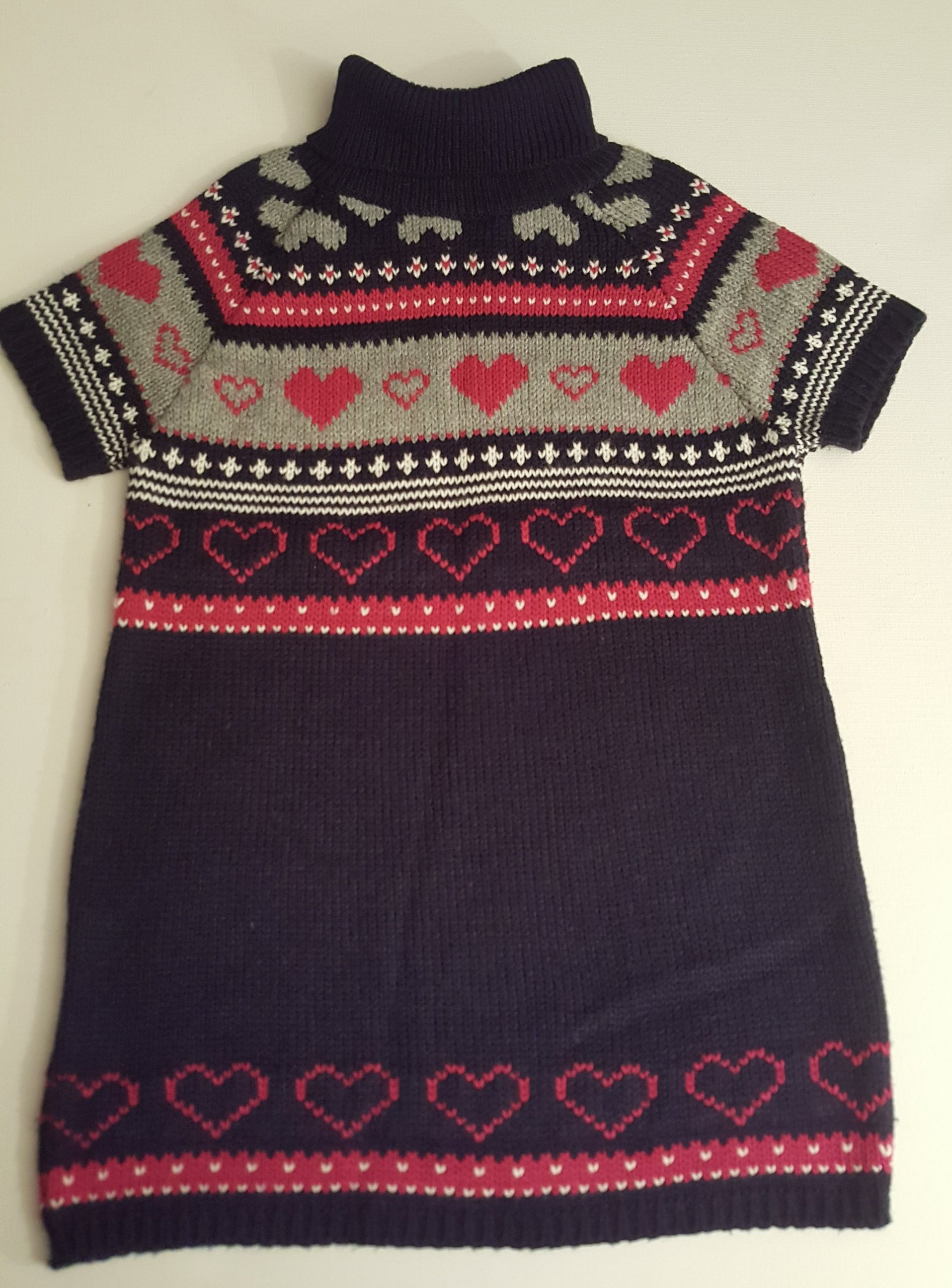 Wójcik 110 116 ciepła tunika sweterekowa CUDNA