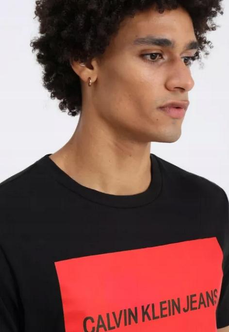Calvin Klein JEANS MĘSKA KOSZULKA T-SHIRT L