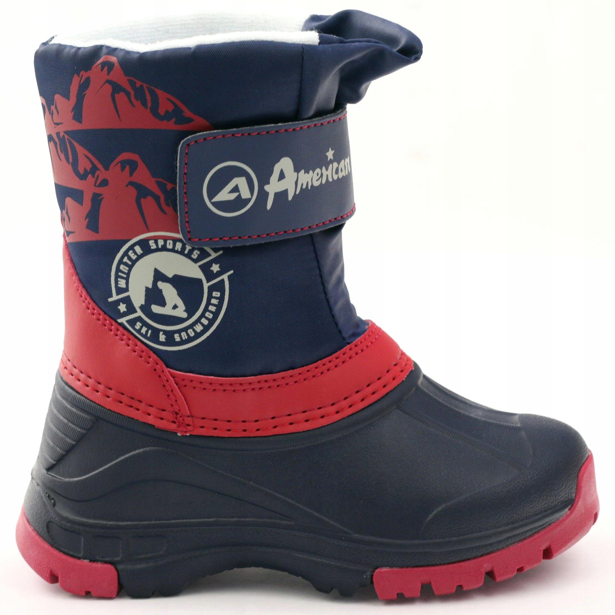 Buty zimowe kozaczki super lekkie American r.26