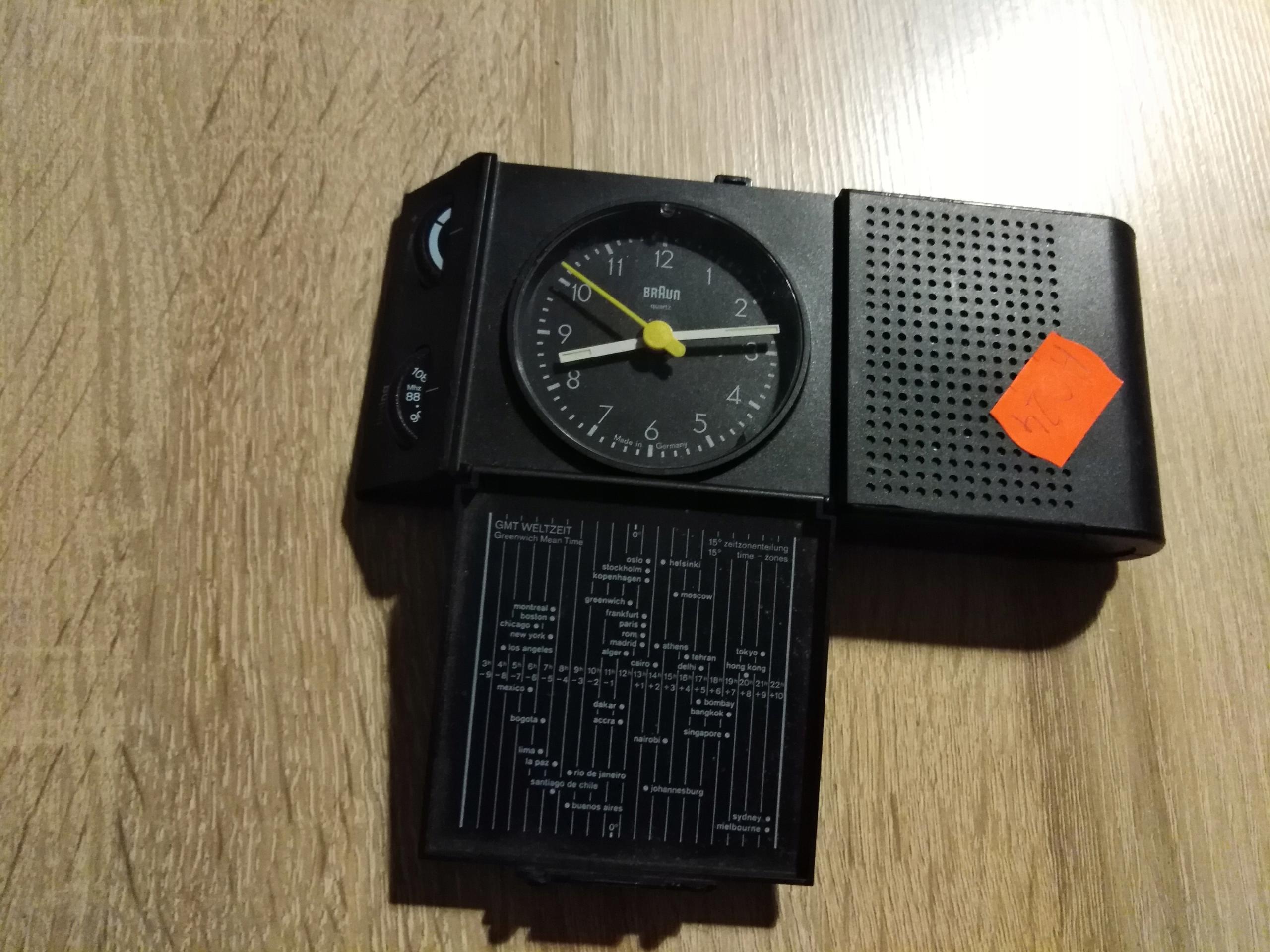Radio zegar Braun Type 4779/ABR 313 -A024