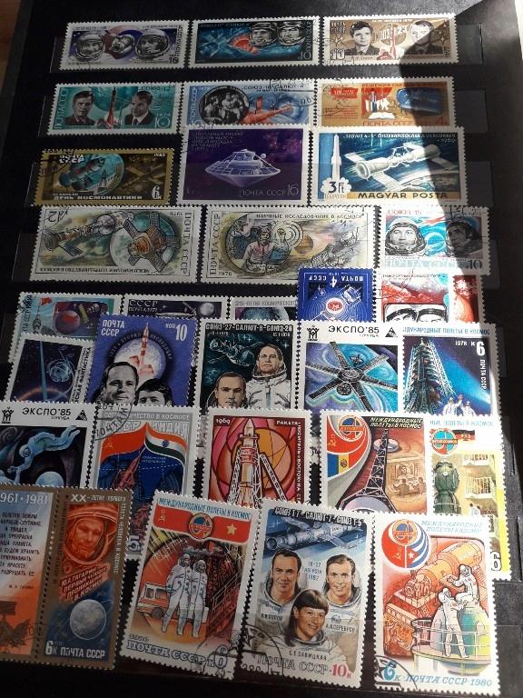 znaczki pocztowe kosmos